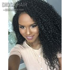 Lace Front Human Hair Wigs Kinky Curly Peruvian Virgin Hair Curly With Baby Hair For Black Women U Part Wigs Full Lace Wigs