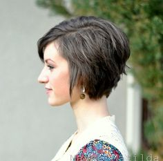 short hair style for women