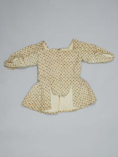 Title: Kinderjak of printed cotton. Creator: unknown Keyword: jacket children's wear Date of creation: 1775-1800
