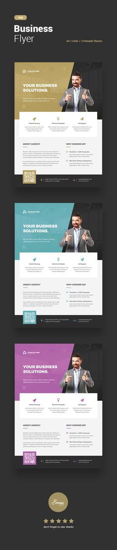 Modern & professional corporate flyer template for Photoshop, perfect to promote your business/services.Download this template here http://bit.ly/BusinessFlyerTemplate   #adobe #photoshop #flyer #template #graphicriver #envato #creative #market #corporate #design #graphic #branding #advertising #advertisement #layout #editorial #bornx