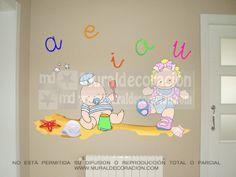 #muralesinfantiles, #decoracionmural, #decoracionbebe, #muralesmadrid,#decoracion,#dormitoriosinfantiles,Murales infantiles para bebé 150 euros www.muraldecoracion.com