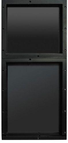 Tile Redi RND1614S-20 Redi Niche Double Recessed Shelf Black Accessory Niche