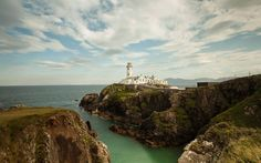 Fanad Head Lighthouse, County Donegal, Ireland Dream Vacation Spots, Dream Vacations, Wild Atlantic Way, Images Of Ireland, Tourism Website, Ireland Travel, Ireland Vacation, Donegal, British Isles