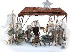 Nativity Scene, Handmade Nativity Scene, Reason for the Season, Birth of Jesus Christ, Holy Night, Christmas Nativity, mantle decorations by NevaStarr on Etsy