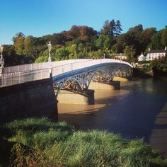 Bridge from Chepstow into Gloucestershire