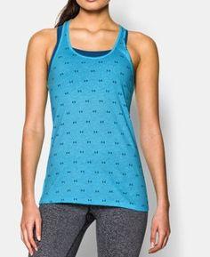 Women's UA Charged Cotton® Tri-Blend Baby Logo Tank