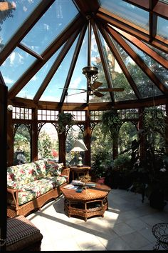 Solarium conservatory. http://pinterest.com/intlhomeshow/