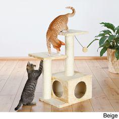 Trixie Pet Products Valencia scratching post, 71 cm, beige - 43771 Cat Tree NEW Diy Cat Tree, Cat Activity, Cat Towers, Cat Pose, Cat Playground, Cat Scratching Post, Cat Scratcher, Cat Condo, Cat Supplies