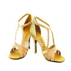 Hebillas rosadas retras de la hebilla de la palabra del verano hechas punto sandalias finas atractivas Zapatos huecos de las mujeres ( Color : Retro pink , Tamaño : 37 )