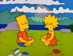 10 Times We Connected To Lisa Simpson From 'The Simpsons' On A Spiritual Level Cartoon Memes, Cartoon Pics, Cartoon Characters, Cartoons, Bart Simpson, The Simpsons, Music Covers, Futurama, How To Do Yoga