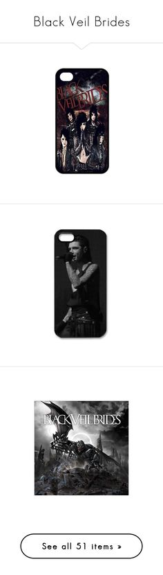 """""""Black Veil Brides"""" by kain-loves-shawn on Polyvore featuring accessories, tech accessories, phone cases, phones, black veil brides, technology, phone, electronics, bvb and samsung"""