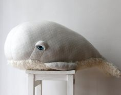 Small Grandpa Whale O Stuffed Animal 0 Plush Toy от BigStuffed