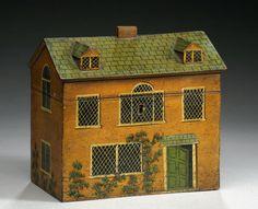 Antique Country Home Tea Caddy, c 1825
