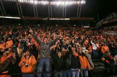 Vol's fans at Tennessee vs South Carolina game 11/1/14.