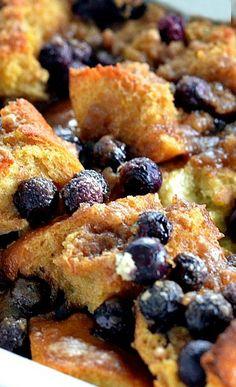 Lemon Blueberry French Toast Bake