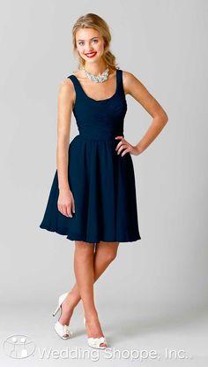 Kennedy Blue bridesmaid dresses from @weddingshoppe
