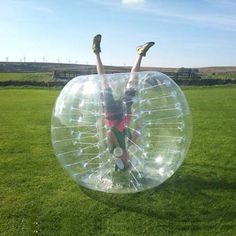 Bubble Soccer Ball Suit -- SO MUCH YES.