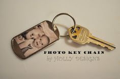 Dog tag picture keychain  Need to make with pics of Weston and Ollie <3