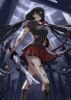 Saya Kisaragi Blood-C by jastersin21.deviantart.com on @deviantART