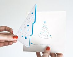 21 Inspiring and Creative Christmas Postcard Designs