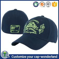 fce6a649bb5 6 panel embroidered a flex caps wholesale hats flexfit baseball cap closed  back
