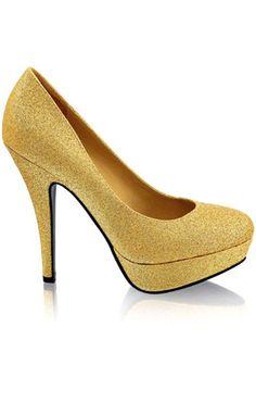 Gold Heels [glitter]