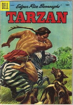 Dell Comics Are Good Comics | Tarzan Comic Book #71, Dell Comics 1955 VERY GOOD