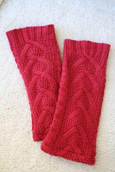 flibbertigibberish: Thrifty Leg Warmer from sweater Tutorial