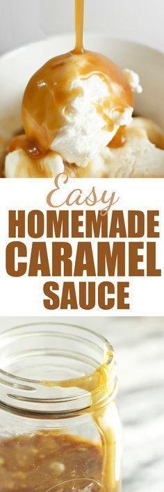 Easy Homemade Caramel #caramel #easyrecipe #homemade