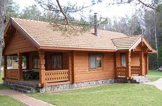 uma casa de madeira consome muito pouca energia