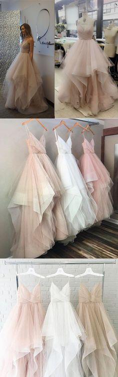 Charming Floor-length Spaghetti Strap V-neck cheap evening dress, long prom dresses , PD0521