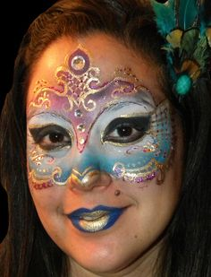 non scary halloween face painting | Mask « Professional Face and Body Painter in Miami, FL