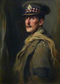 Lieutenant D. Hope, Scots Guards, 1917 attributed to Philip de Laszlo (1869-1937)