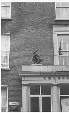 Found this little girl in Dublin, on a small roof. She actually made me start taking pics of statues...