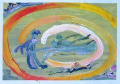Pospíšil Jan - Merry-Go-Round - Painting Merry Go Round, Painting Gallery, Art, Art Background, Kunst, Gcse Art