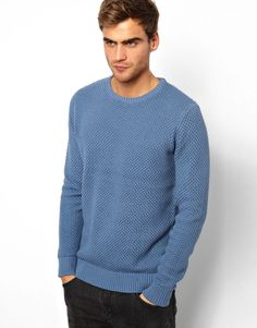 Jumper by SelectedMade from cottonTextured knit patternRibbed hem and cuffsRegular fitABOUT SELECTEDFirst launched in 1997, Selected now has a strong and respected foothold in men's fashion worldwide with a presence in 25 countries across the globe. Still continuing to stand at the forefront of men's fashion; Selected specialises in raw and simple designs that are never obviously trend-driven, but always edgy, elegant and masculine with focus on attention to detail.