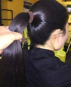 Long Hair Ponytail, Ponytail Hairstyles, Cool Hairstyles, Hair Updo, Beautiful Long Hair, Gorgeous Hair, Cut Her Hair, Hair Cuts, Long Indian Hair