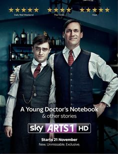A Young Doctor's Notebook- great show! I'm excited to see season 2