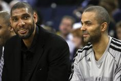 San Antonio Spurs Tim Duncan, Tony Parker They are that deal! Made LeBron work for it! 2013