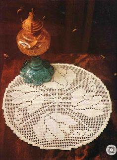 World crochet: Napkin 475