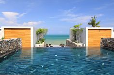 Casa de la Flora, Thailand  The infinity pool's view melts into the ocean at Casa de la Flora.