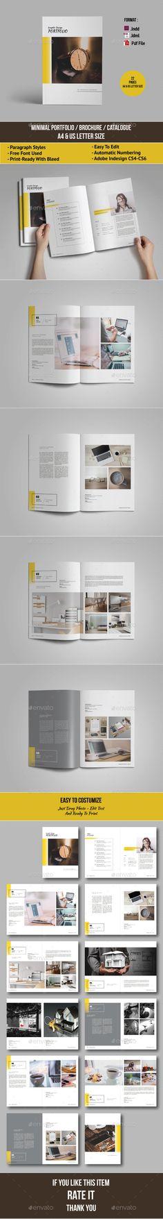 A5 Portfolio Brochure Catalogue