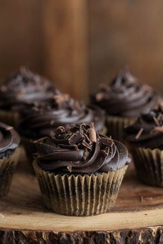 Naturally Ella | Chocolate Beet Cupcakes with Chocolate Mascarpone Frosting