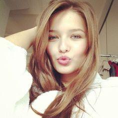 Kristina Romanova ❤ liked on Polyvore featuring kristina romanova, models and people