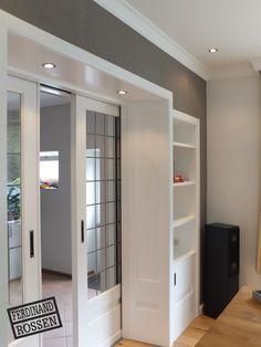 Interior Design For Bathroom House Design, Home Living Room, Home Remodeling, Doors Interior, House Interior, Double Doors Interior, Home Interior Design, House Interior Decor, Sitting Room Decor