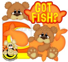 Got Fish - Treasure Box Designs Patterns & Cutting Files (SVG,WPC,GSD,DXF,AI,JPEG)