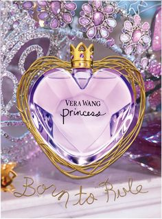 Vera Wang Princess Perfume - I own this and love it. The bottle is so beautiful too.