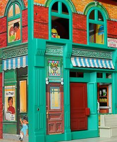 One of my most favorite toys as a kid...the Fisher Price Sesame Street Apartment. Brings back lots of memories. :)