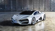 Austrian-based start-up Milan Automotive has uncovered a powerful contender bound to take the battle to any semblance of the Bugatti Chiron. Bugatti, Cool Sports Cars, Super Sport Cars, Super Car, Koenigsegg, New Supercars, Nascar Race Cars, Most Expensive Car, Sweet Cars