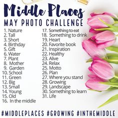 Love the Middle Places Instagram Photo Challenge!